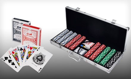 500-Piece Dice-Style, 11.5-Gram Poker Set