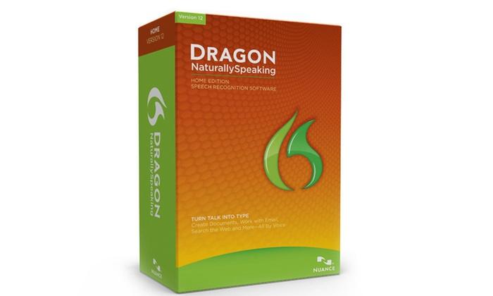 Dragon NaturallySpeaking 12 Home Edition: Dragon NaturallySpeaking 12 Home Edition