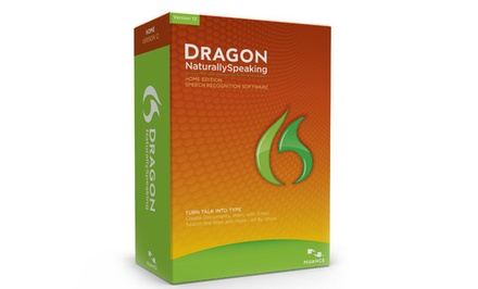 Dragon NaturallySpeaking 12 Home Edition