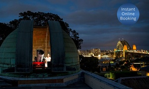 Sydney Observatory: From $8 for Tour Admission at the Sydney Observatory, Millers Point (From $10 Value)