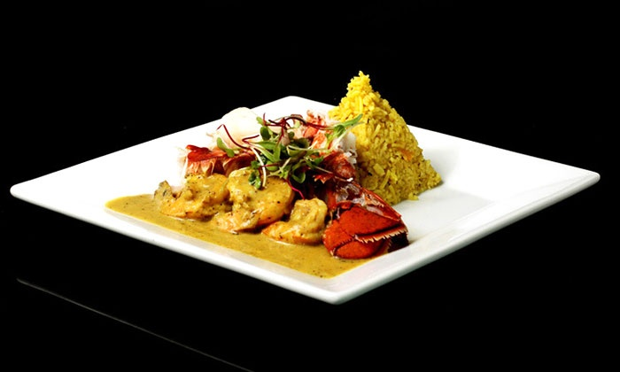 5th Element Restaurant - Downtown Toronto: Four-Course Indian Meal for Two or Four with Optional Drinks at 5th Element Restaurant (Up to 52% Off)