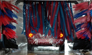 Super Shine Carwash & Detail: Car Washes or Details at Super Shine Car Wash (Up to 53% Off). Five Options Available.