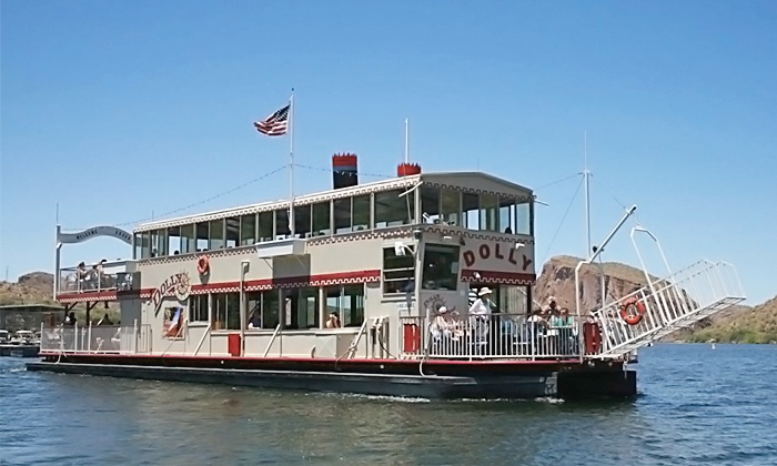 Dolly Steamboat - Canyon Lake: Narrated Nature Cruise for Two or Four from Dolly Steamboat in Apache Junction (40% Off)