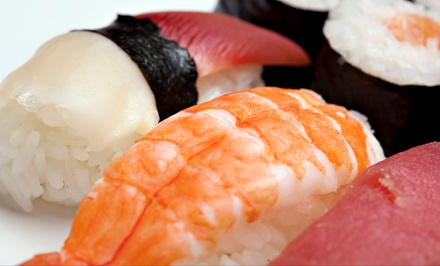 $16.50 for $30 Worth of Sushi and Hibachi Cuisine at Tokyo Sushi