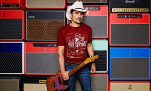 Brad Paisley with Tyler Farr and Maddie & Tae: Brad Paisley with Special Guests Tyler Farr and Maddie & Tae on Friday, September 16, at 7:30 p.m.