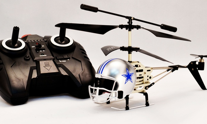 NFL Remote-Controlled Helmet Helicopters: NFL Remote-Controlled Helmet Helicopter. Multiple Teams Available. Free Returns.