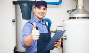 Hi-Tech Plumbing & Air: Whole House Plumbing Inspection and Water Heater Maintenance from Hi-Tech Plumbing Service (48% Off)