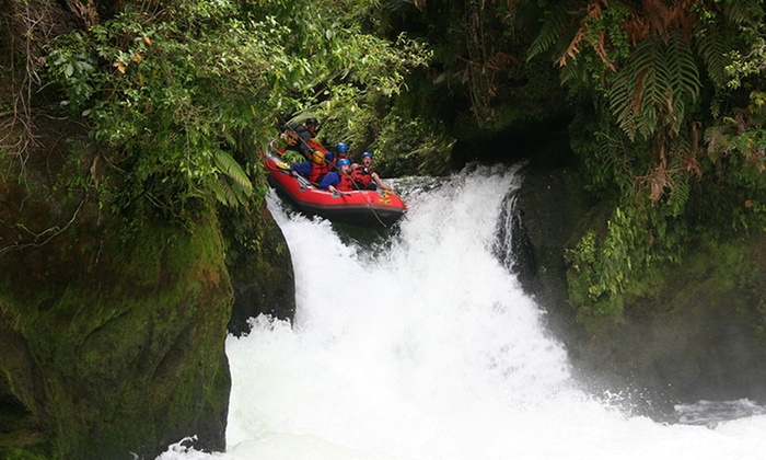 Wet and Wild Rafting Rotorua - Wet and Wild Rafting Rotorua: White Water Rafting on the Kaituna River for One ($65), Two ($129) or Four ($255) with Wet and Wild (Up to $396 Value)