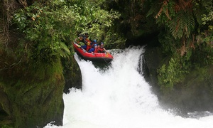 Wet and Wild Rafting Rotorua: White Water Rafting on the Kaituna River for One ($65), Two ($129) or Four ($255) with Wet and Wild (Up to $396 Value)