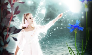 Glamour Shots: $25 for a Kids' Fairy Tale Photo Shoot including Print Package and Digital Image at Glamour Shots ($169.95 Value)