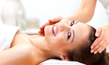 One or Three 60-Minute Custom Facials with Scalp Massages at Skin & Glam (Up to 64% Off)