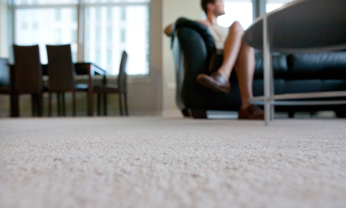First Class Carpet Cleaning - Chicago: Carpet Cleaning Two or Four Rooms with One Staircase from First Class Carpet Cleaning (Up to 66% Off)