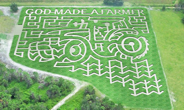 Conner's A-Maize-Ing Acres - Hilliard: $15 for a Visit for Two to Farm and Corn Maze at Conner's A-Maize-Ing Acres ($28 Value)