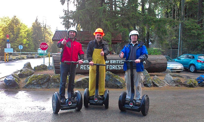 Wild BC Tours and Guiding - Mission: C$39 for a 90-MInute Segway Tour from Wild BC Tours and Guiding (C$79 Value)