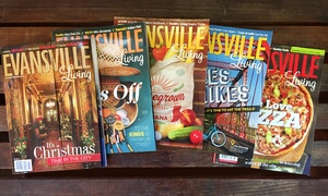 "Evansville Living Magazine: One- or Two-Year Subscriptions to ""Evansville Living Magazine"" (50% Off)"