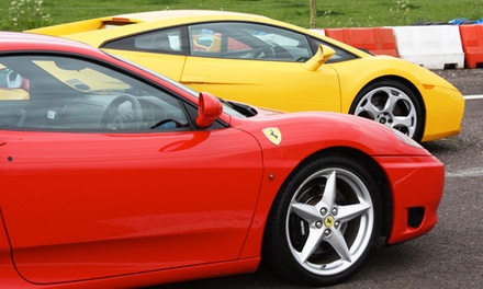 Exotic-Car Driving Experience with 4, 6, or 10 Driving Laps from Exotic Car Tours (50% Off)