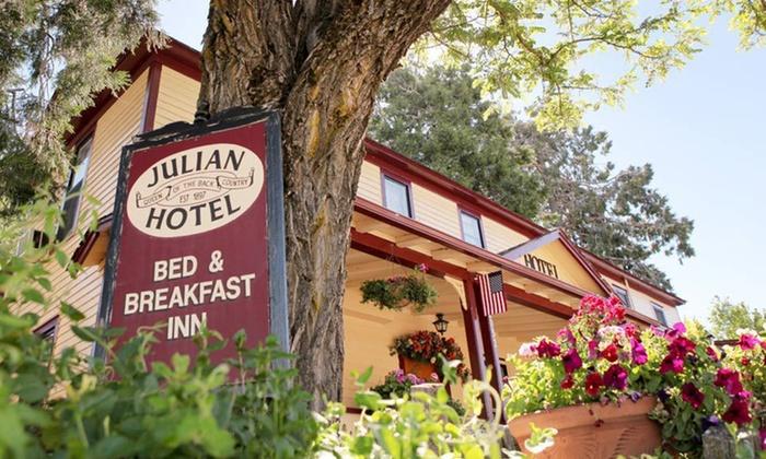 Julian Gold Rush Bed & Breakfast - Julian, CA: One- or Two-Night Stay at Julian Gold Rush Bed & Breakfast in Julian, CA. Valid for Sunday–Thursday Check-In.