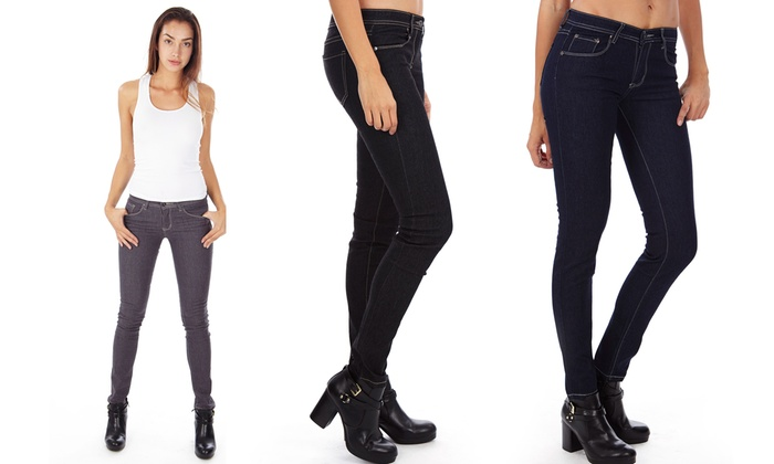 Junior Fit Ladies Denim Pants (3-Pack)