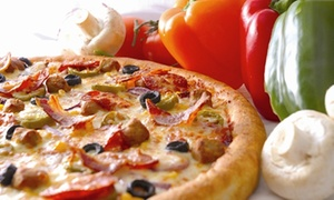 Herbies Pizza - Fareham: Any Medium or Large Pizza with a Drink at Herbies Pizza – Fareham (Up to 61% Off)
