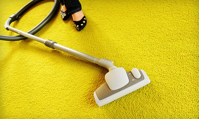 CarpetClean - Goose Island: $54 for Carpet Cleaning, Sanitization, and Scotchgard Application for Two Rooms from CarpetClean ($109 Value)