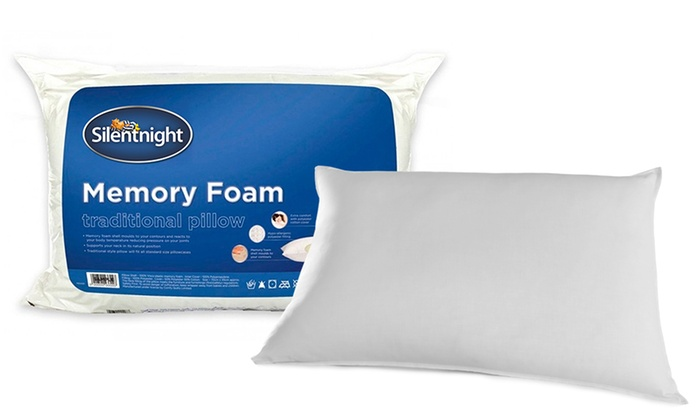 new concept a2cf5 01680 Silentnight Impress Deluxe Memory Foam Pillow from £25.99 (Up to 65% Off)