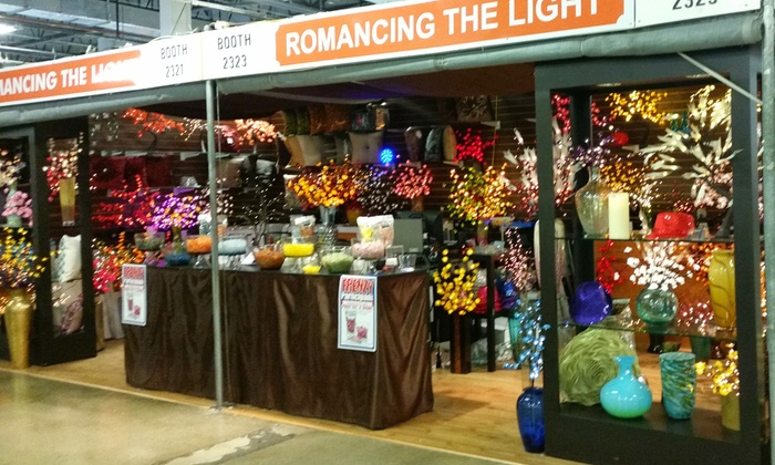 Romancing The Light - Multiple Locations: Up to 50% Off home decor at Romancing The Light