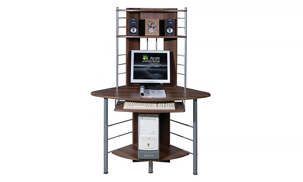 Dexter Tall Corner puter Desk in Choice of Colour for £