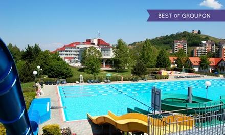 Slovenia, Terme Lendava - Fino a 7 notti in appartamento con piscine termali per 2 o 2 persone + 1 bambino <18 anni