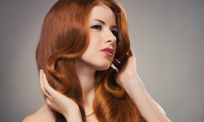 GG Salon Spa - Timber Village: Keratin Treatment or Haircut, Condition, and Optional Color Retouch or Highlights at GG Salon Spa (Up to 67% Off)