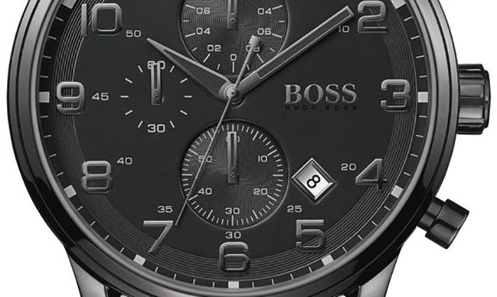847a1a224d Montres Chrono Hugo Boss Black | Groupon Shopping