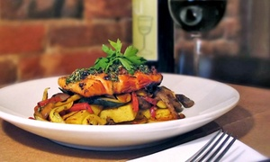 Asiago's Restaurant & Wine Bar: Italian Cuisine for Lunch or Dinner at Asiago's Restaurant & Wine Bar (Up to 45% Off). Three Options Available.