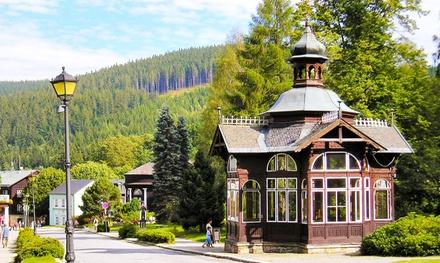 Czechy: 2-8 dni dla 2 osób z wyżywieniem, zniżką do Wellness i więcej od 179 zł w Hotelu Džbán w Karlowej Studzience