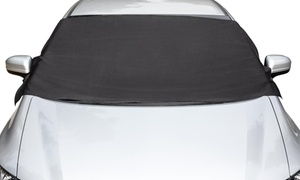 Heavy-Duty Snow and Ice Deflector Windshield Cover