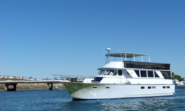 Newport Fun Charters - Newport Beach: $33 for a 90-Minute Mother's/Father's Day Harbor Cruise & Drinks from Newport Fun Charters ($125 Value)