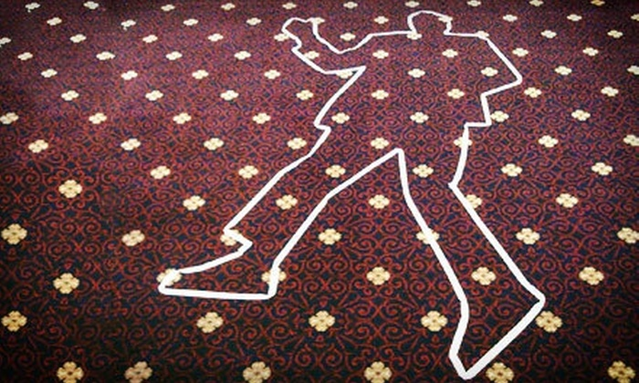 Dinner Detective Murder Mystery Show - Kilbourn Town: The Dinner Detective Murder-Mystery Dinner with Commemorative Mug at the Hyatt Regency (Up to 40% Off)