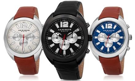 Akribos Men's Swiss Multifunction Watch