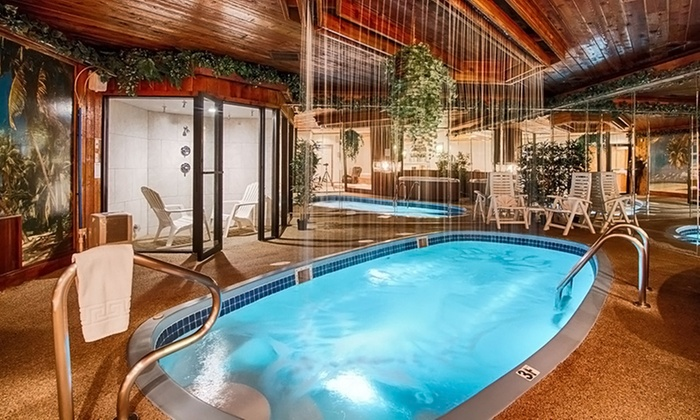 Sybaris Pool Suites Mequon - Mequon, WI: 1- or 2-Night Stay for Two with Romance Package at Sybaris Pool Suites Mequon in Greater Milwaukee