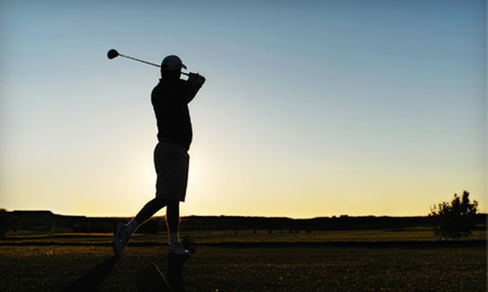Modern Golf Instruction - University District: One Private 60-Minute Golf Lesson or Five Private 45-Minute Lessons at Modern Golf Instruction (Up to 57% Off)