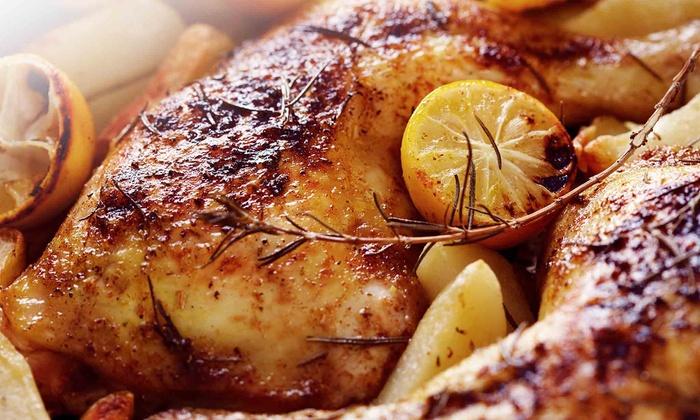 Chick 'n Chop on the Grill - Silver Lakes: Grilled Chicken, Pitas, Mediterranean Food, and Drinks for at Chick 'n Chop On The Grill (Up to 48% Off)
