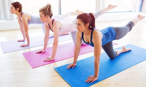 YoLo_LiveFit: 5, 10, 15, or 20 Pilates/Yoga Workouts from YoLo_LiveFit (Up to 61% Off)