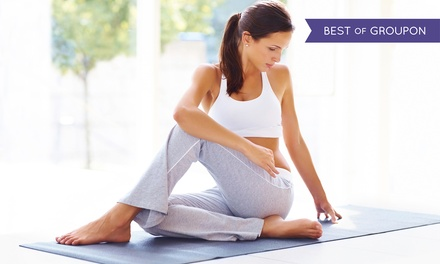 10 or 20 Yoga Classes at Yoga Space (Up to 64% Off)