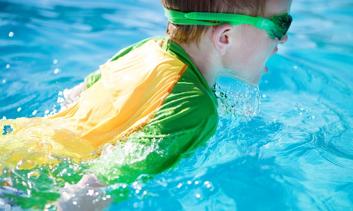 Six Point Aquatics - West Loop: Five 30-Minute Kids' Swimming Lessons for One or Two at Six Point Aquatics (Up to 59% Off)