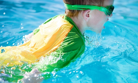 Five 30-Minute Kids' Swimming Lessons for One or Two at Six Point Aquatics (Up to 59% Off)