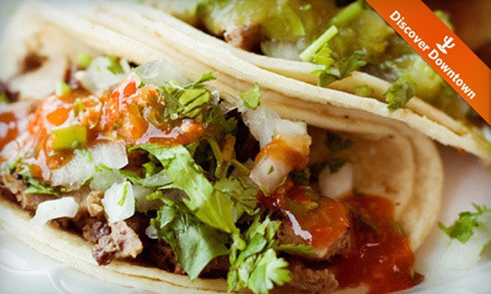 El Minuto Cafe - Barrio Viejo: $10 for $20 Worth of Mexican Food for Two or More at El Minuto Cafe