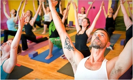 $39 for One Month of Unlimited Yoga Classes at Laughing Lotus Yoga BK ($400 Value)
