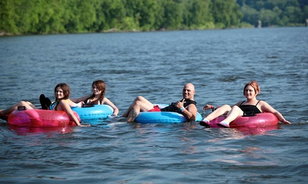 Tubing, Rafting, Canoeing, or Kayaking Trip Plus Barbecue Lunch for 1 from Delaware River Tubing (Up to 46% Off)