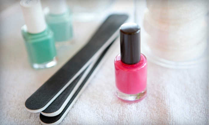 Paris Nails & Spa - Cannon Oaks: One or Two Deluxe Mani-Pedis at Paris Nails & Spa (Up to 53% Off)