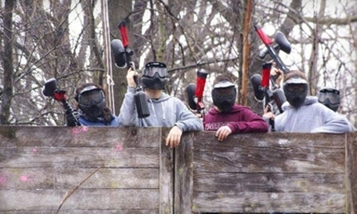 H2 Paintball - H2 Paintball: Paintball Package for Two or Four with Equipment and Paintballs at H2 Paintball in Holiday Hills (60% Off)