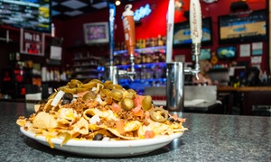 Division Sports Pub: $12 for $20 Worth of Food and Drink for 2 at Division Sports Pub