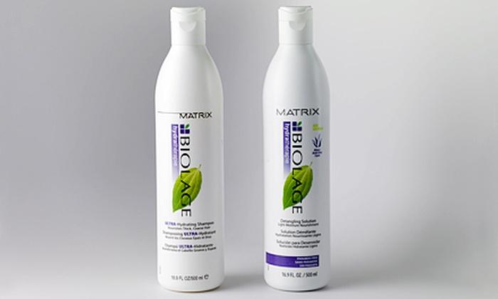 Matrix Biolage Hydrathérapie Duo: $25 for a Biolage Hydrathérapie Duo (Up to $42.99 List Price)